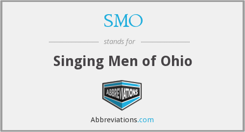 SMO - Singing Men of Ohio