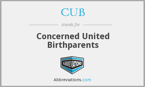 CUB - Concerned United Birthparents
