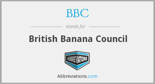 BBC - British Banana Council