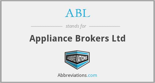 ABL - Appliance Brokers Ltd