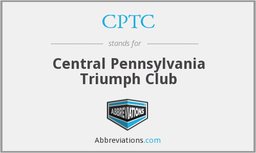 CPTC - Central Pennsylvania Triumph Club