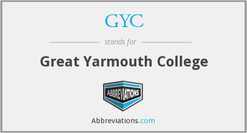 GYC - Great Yarmouth College