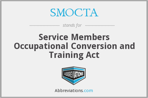What does SMOCTA stand for?