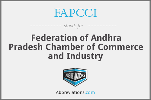 FAPCCI - Federation of Andhra Pradesh Chamber of Commerce and Industry