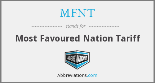 What does MFNT stand for?