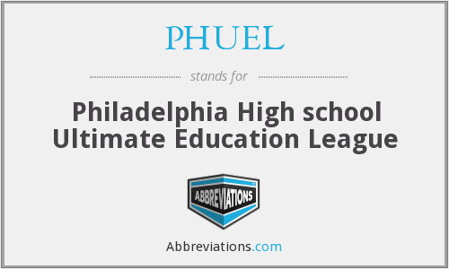 What does PHUEL stand for?