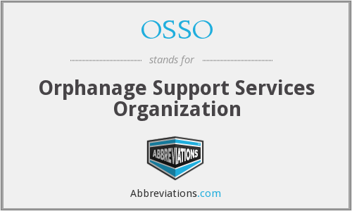 OSSO - Orphanage Support Services Organization