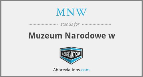 MNW - Muzeum Narodowe w
