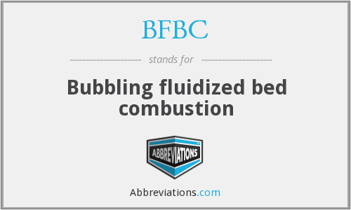 What does BFBC stand for?