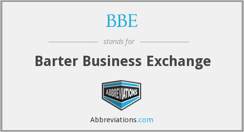 BBE - Barter Business Exchange