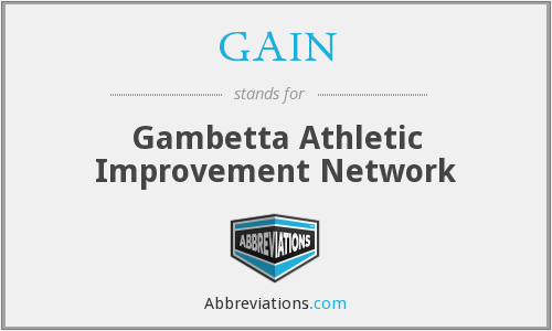 GAIN - Gambetta Athletic Improvement Network