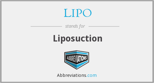 What does LIPO stand for?