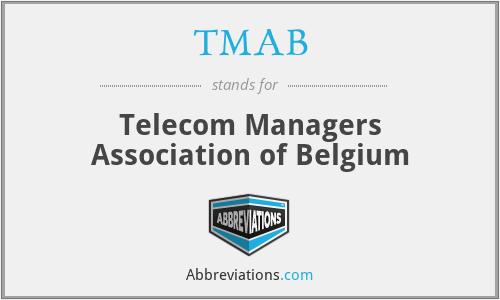 TMAB - Telecom Managers Association of Belgium
