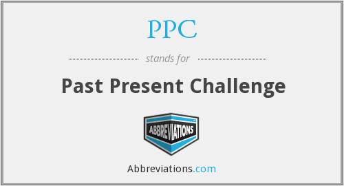 PPC - Past Present Challenge