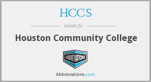 What does HCCS stand for?