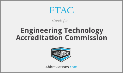 What does ETAC stand for?