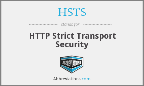 What does HSTS stand for?