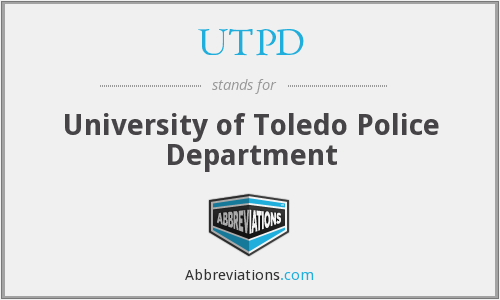 UTPD - University of Toledo Police Department