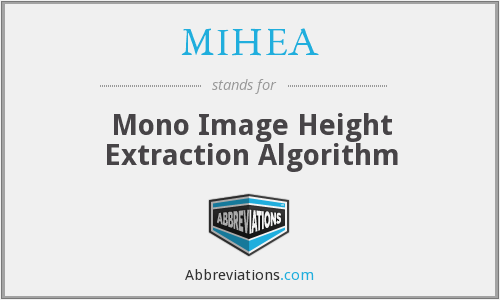 What does MIHEA stand for?