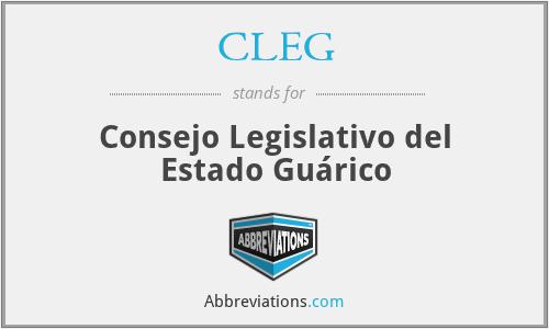 CLEG - Consejo Legislativo del Estado Guárico