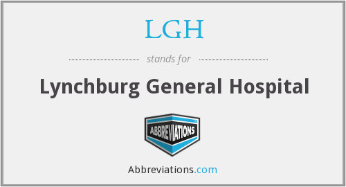 LGH - Lynchburg General Hospital