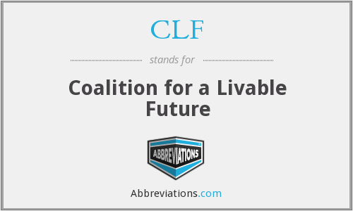 CLF - Coalition for a Livable Future