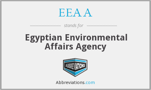 What does EEAA stand for?
