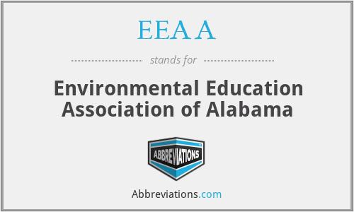 EEAA - Environmental Education Association of Alabama