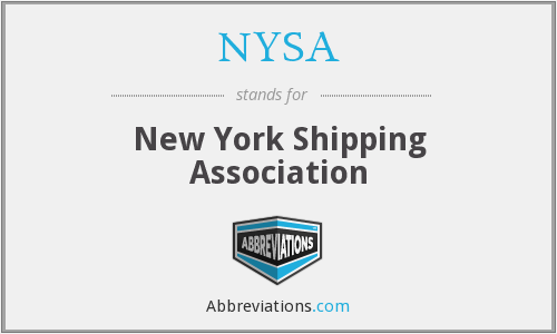 What does NYSA stand for?