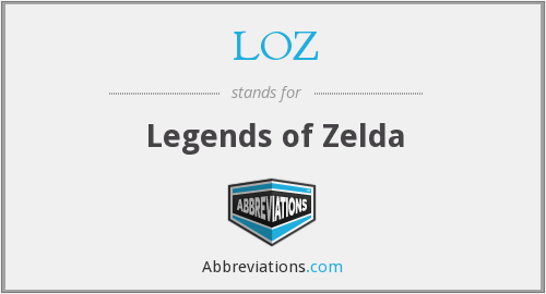 LOZ - Legends of Zelda