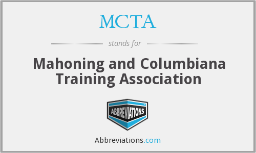 MCTA - Mahoning and Columbiana Training Association