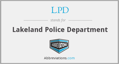 LPD - Lakeland Police Department