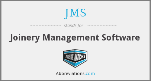 JMS - Joinery Management Software