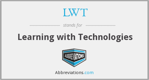 LWT - Learning with Technologies