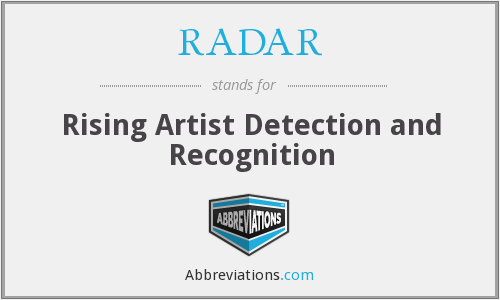 RADAR - Rising Artist Detection and Recognition