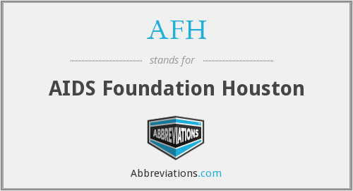 AFH - AIDS Foundation Houston