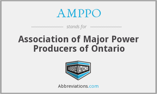 What does AMPPO stand for?