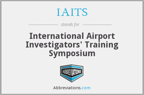 What does IAITS stand for?