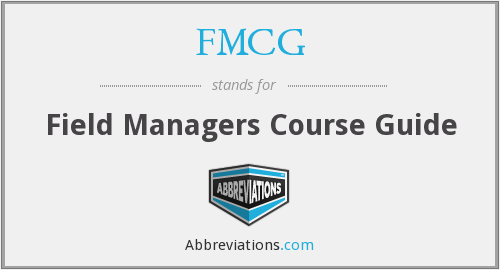 FMCG - Field Managers Course Guide