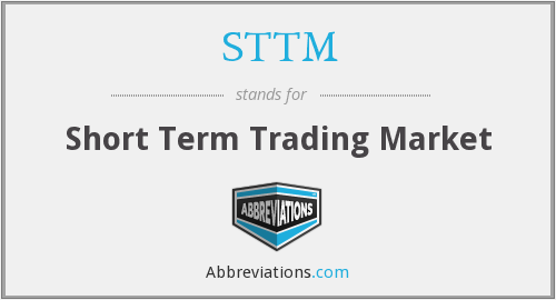 What does STTM stand for?