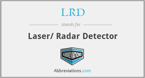 LRD - Laser/ Radar Detector