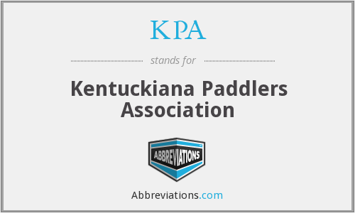 KPA - Kentuckiana Paddlers Association