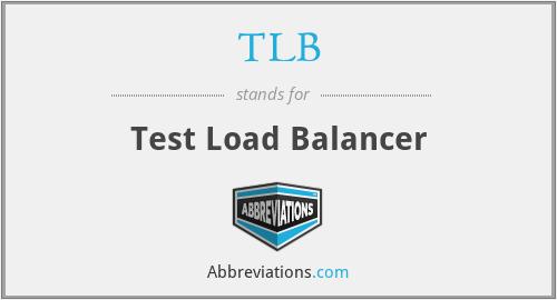 TLB - Test Load Balancer