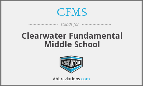 CFMS - Clearwater Fundamental Middle School