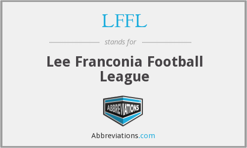 What does LFFL stand for?