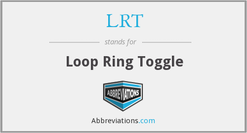 LRT - Loop Ring Toggle