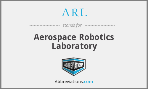 ARL - Aerospace Robotics Laboratory