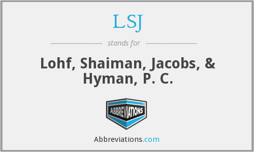 LSJ - Lohf, Shaiman, Jacobs, & Hyman, P. C.