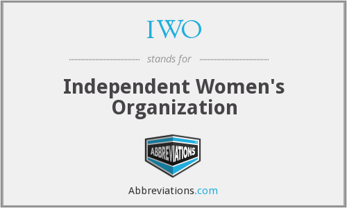 IWO - Independent Women's Organization