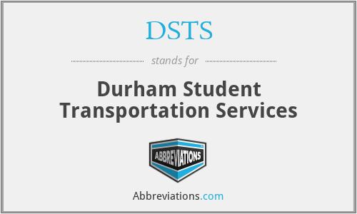 DSTS - Durham Student Transportation Services